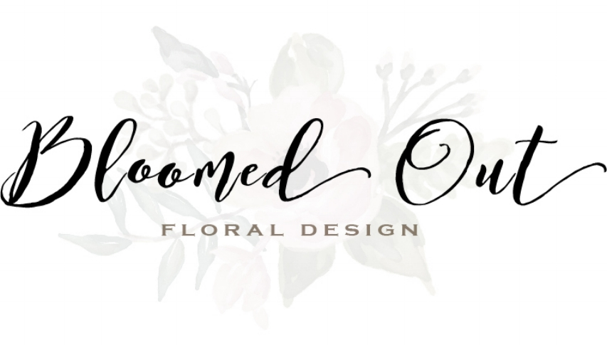Bloomed out logo