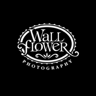 Wall flower photo logo