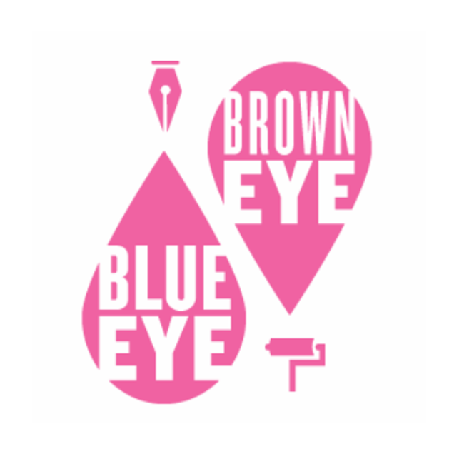 Blue eye brown eye  edit logo