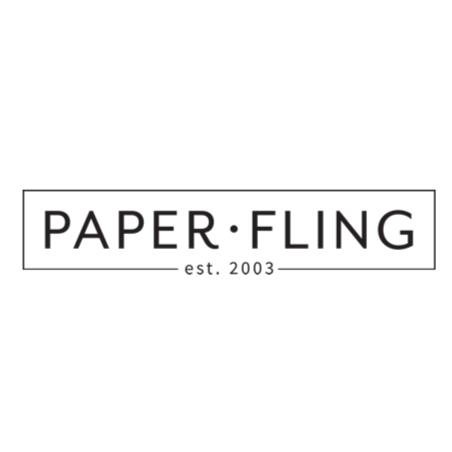 Paper fling logo