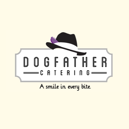 Dogfather catering logo
