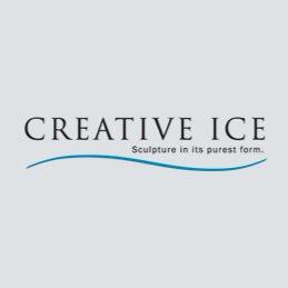 Creative ice logo