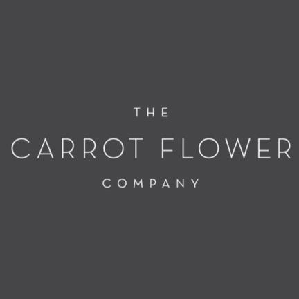 Carrot flower logo