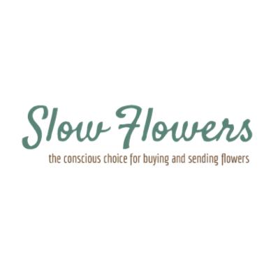 Slow flowers logo